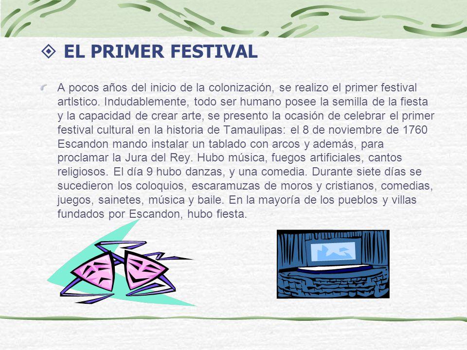 EL PRIMER FESTIVAL