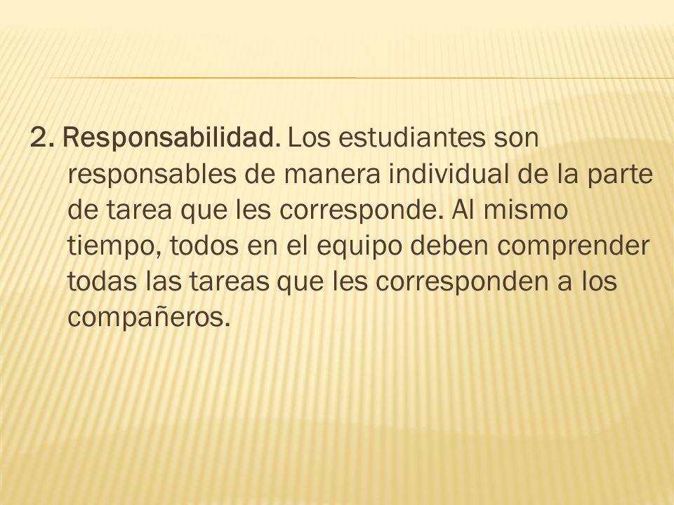 2. Responsabilidad.