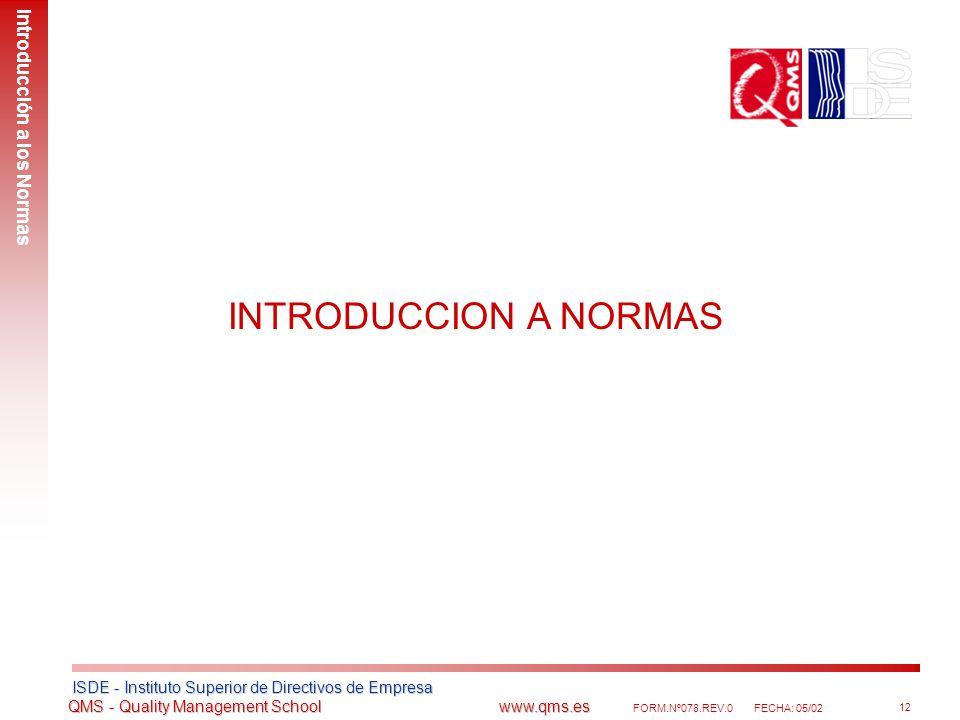 Introducción a los Normas