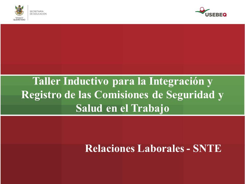 Relaciones Laborales - SNTE