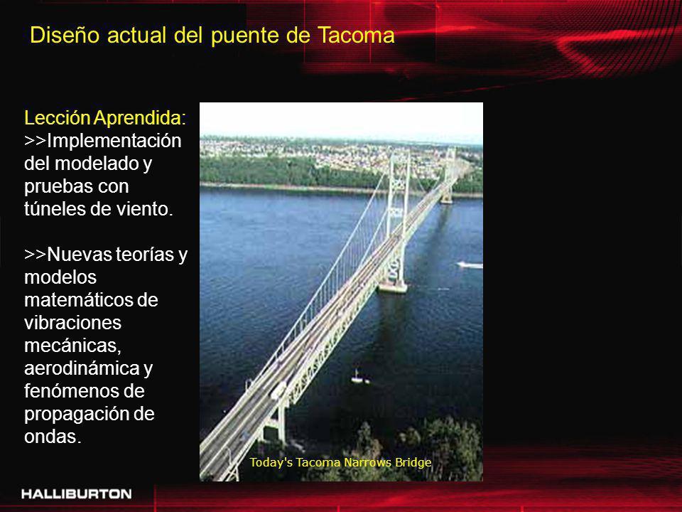 Diseño actual del puente de Tacoma