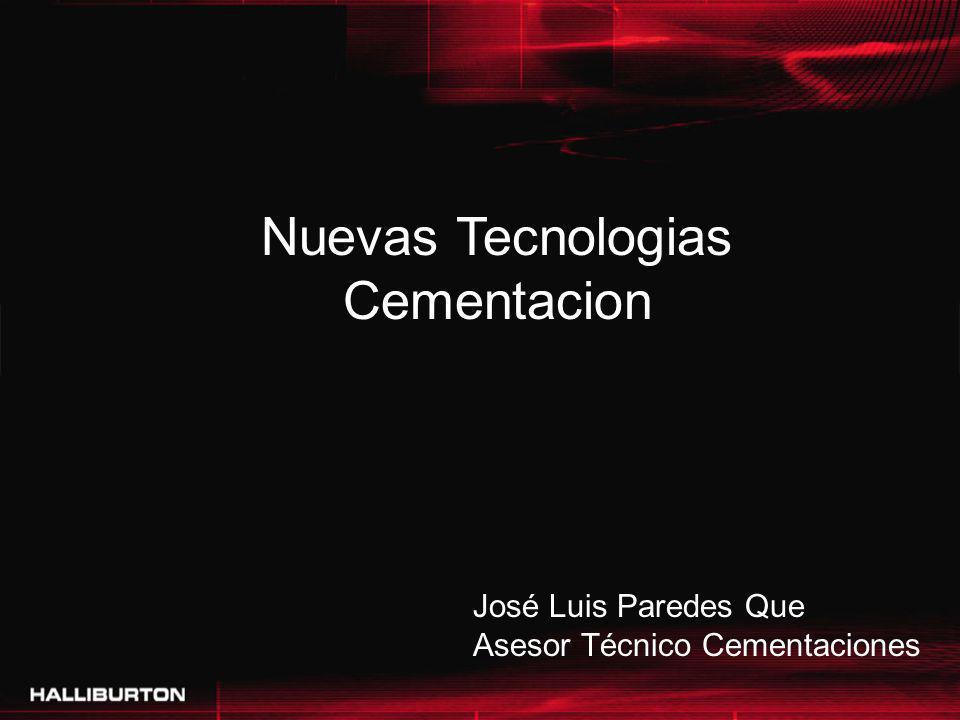 Nuevas Tecnologias Cementacion José Luis Paredes Que