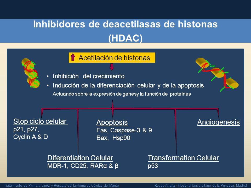 Inhibidores de deacetilasas de histonas