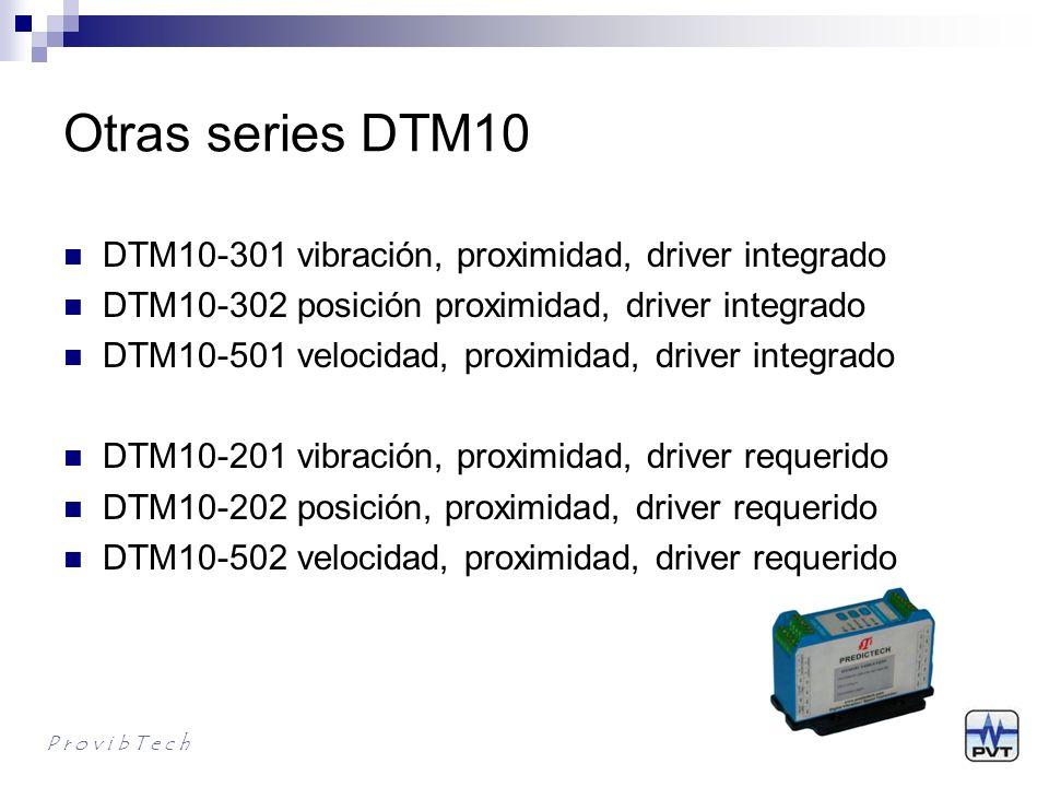 Otras series DTM10 DTM10-301 vibración, proximidad, driver integrado