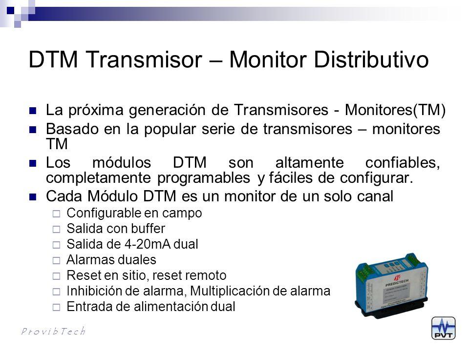 DTM Transmisor – Monitor Distributivo