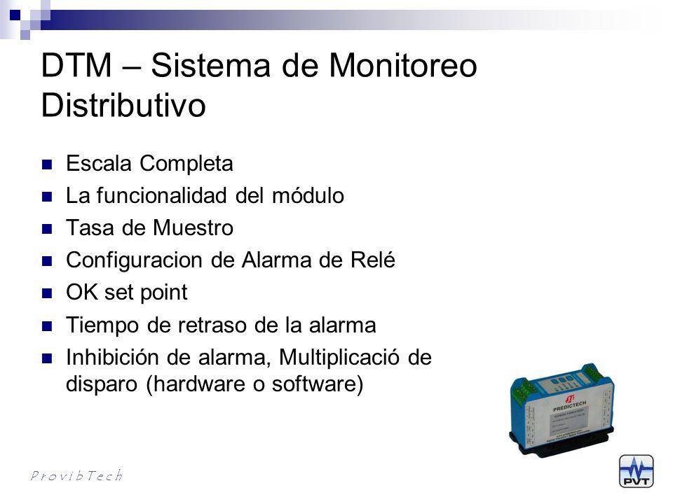 DTM – Sistema de Monitoreo Distributivo