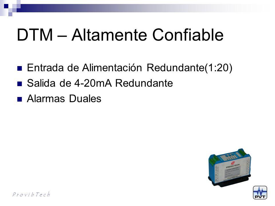 DTM – Altamente Confiable