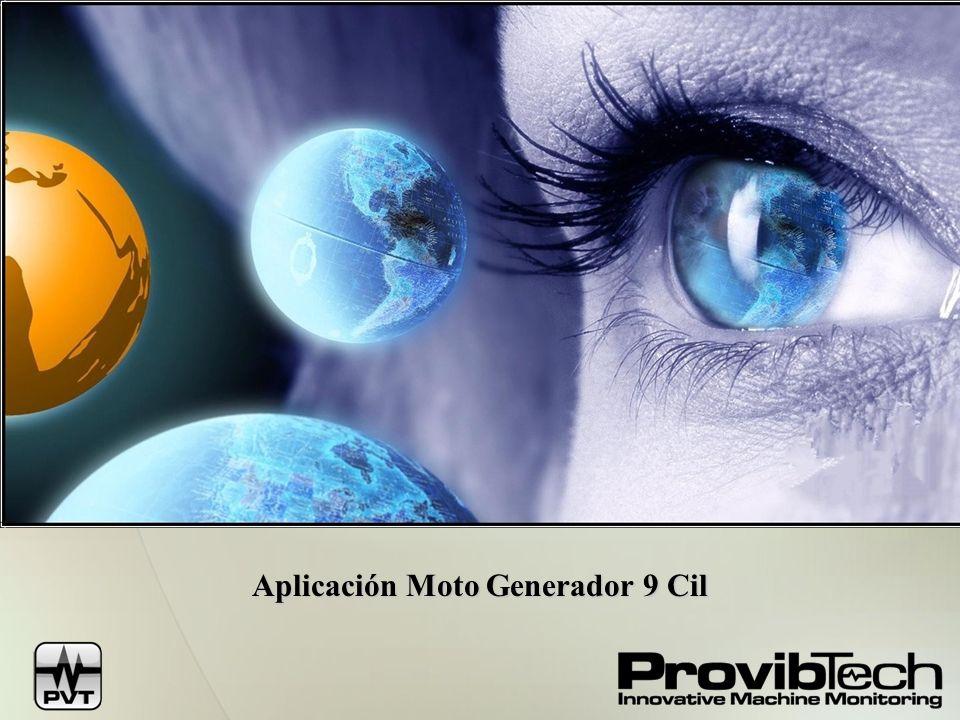 Aplicación Moto Generador 9 Cil