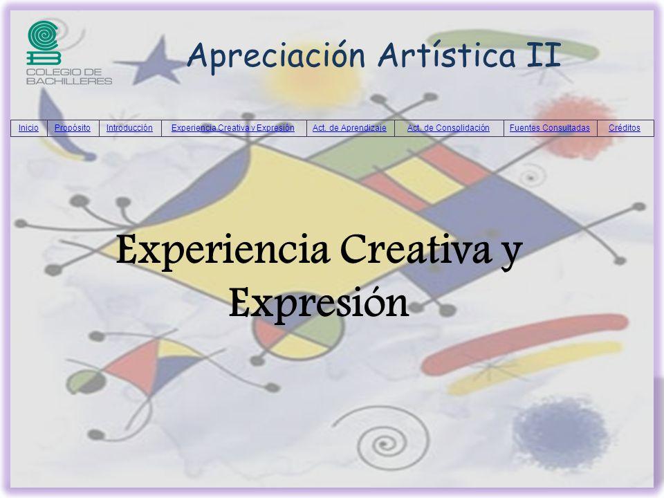 Experiencia Creativa y Expresión