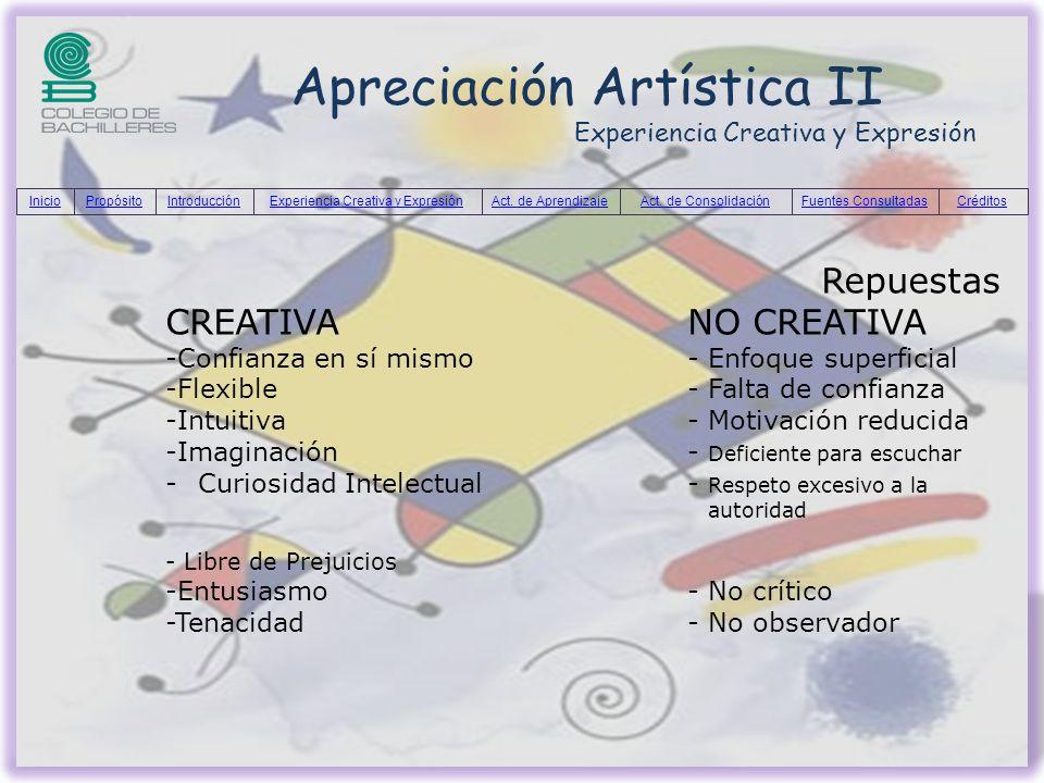 Apreciación Artística II