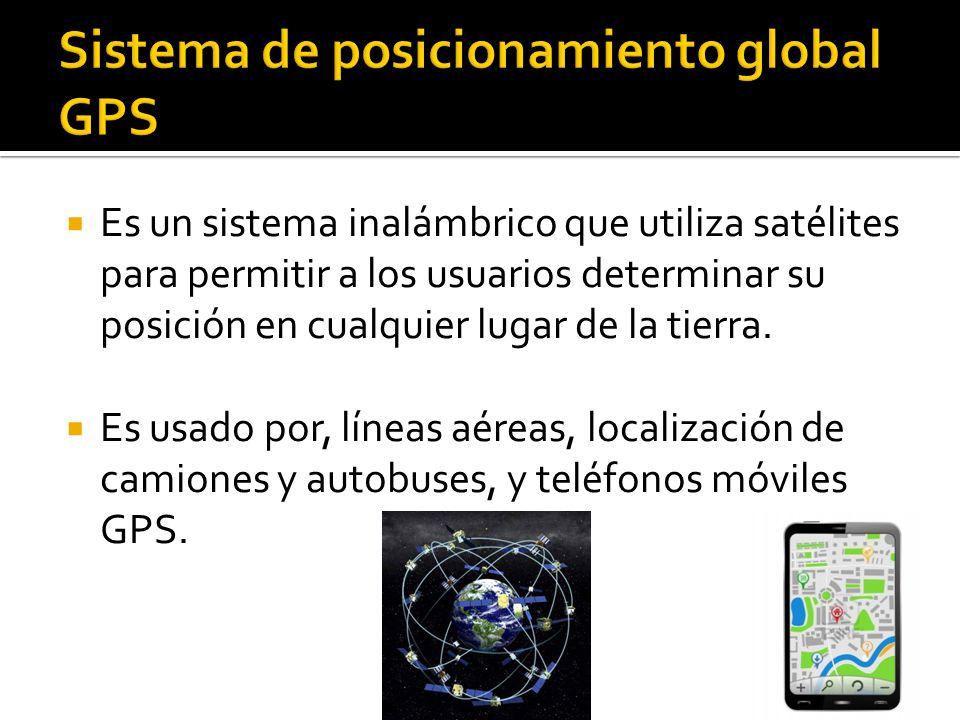Sistema de posicionamiento global GPS