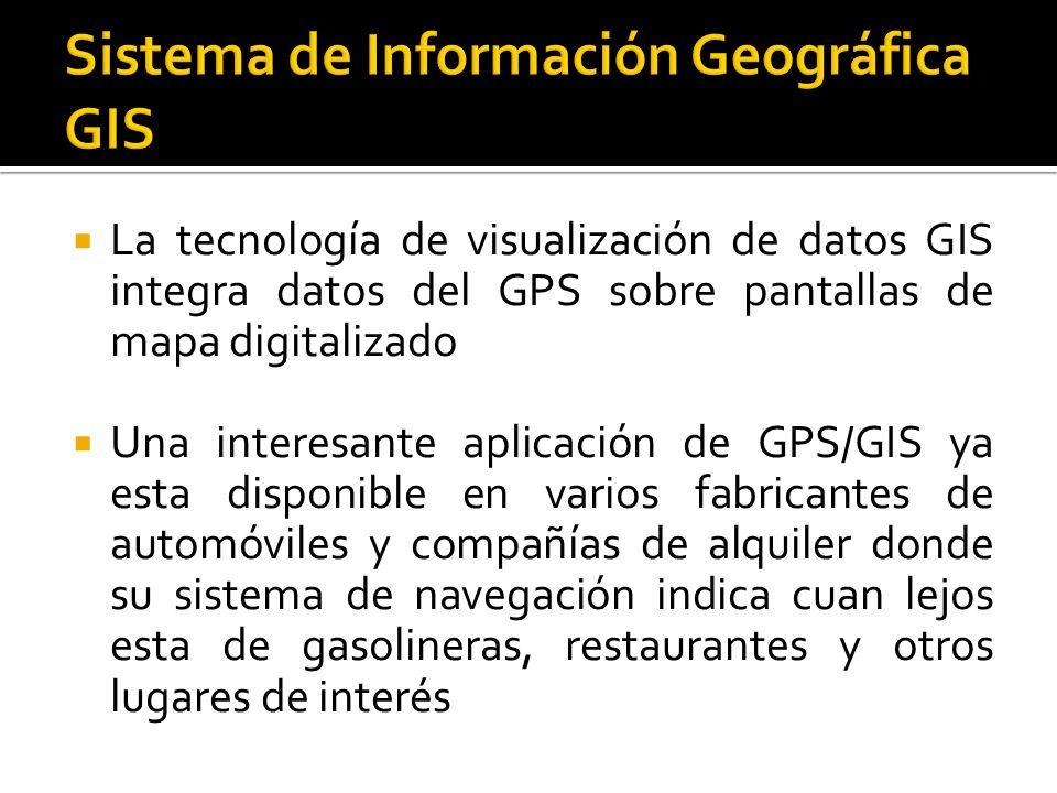 Sistema de Información Geográfica GIS