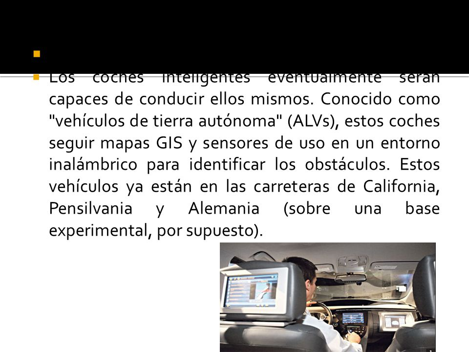 Coches inteligentes