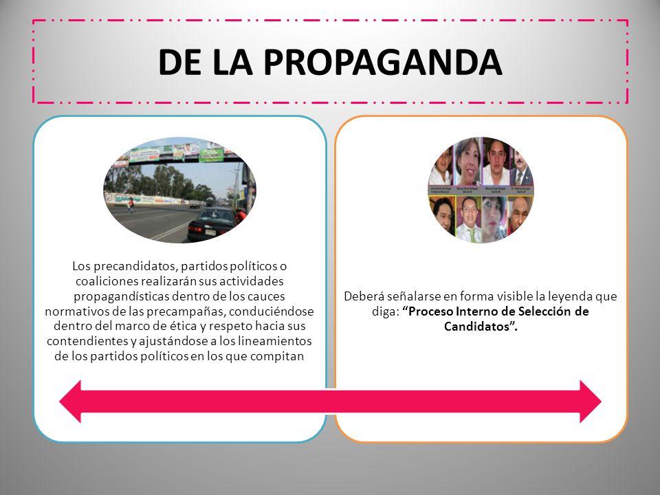 DE LA PROPAGANDA