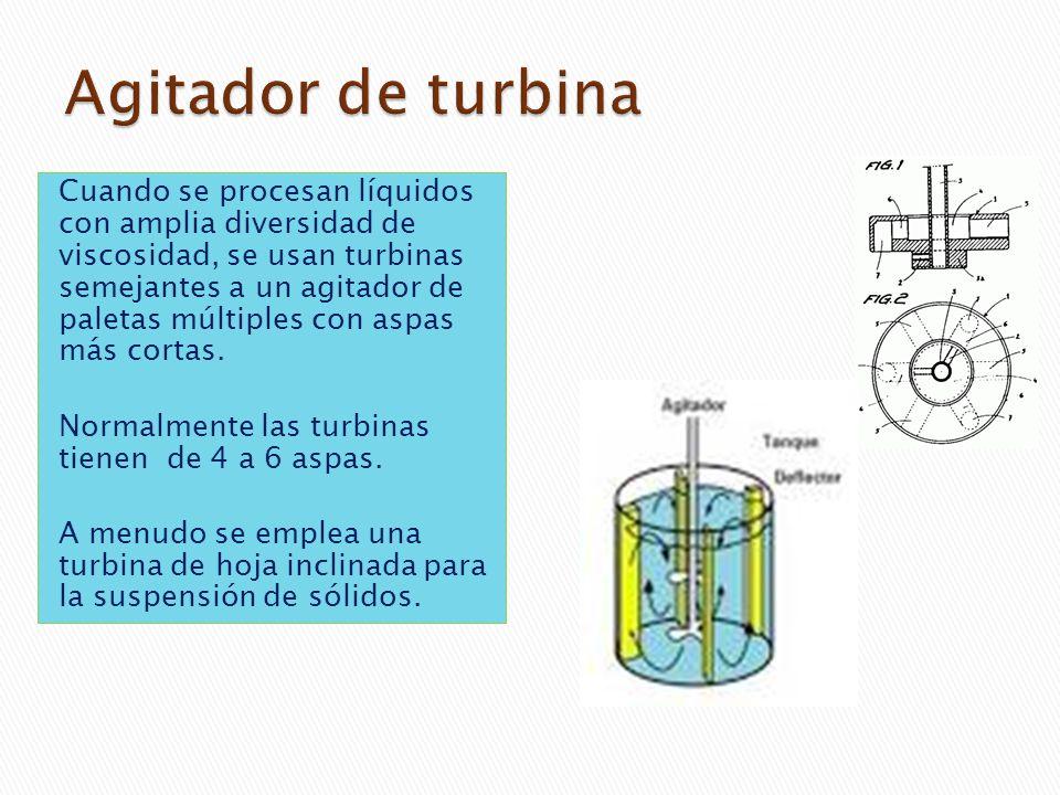 Agitador de turbina