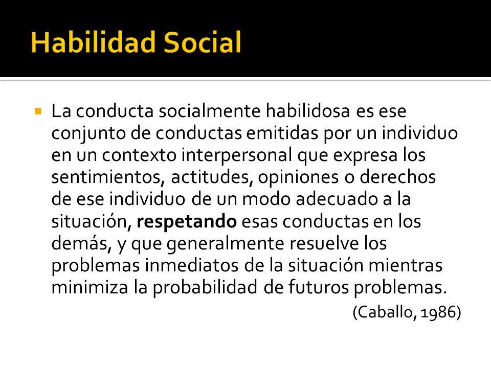Habilidad Social