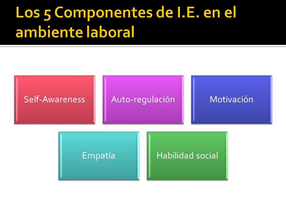 Los 5 Componentes de I.E. en el ambiente laboral