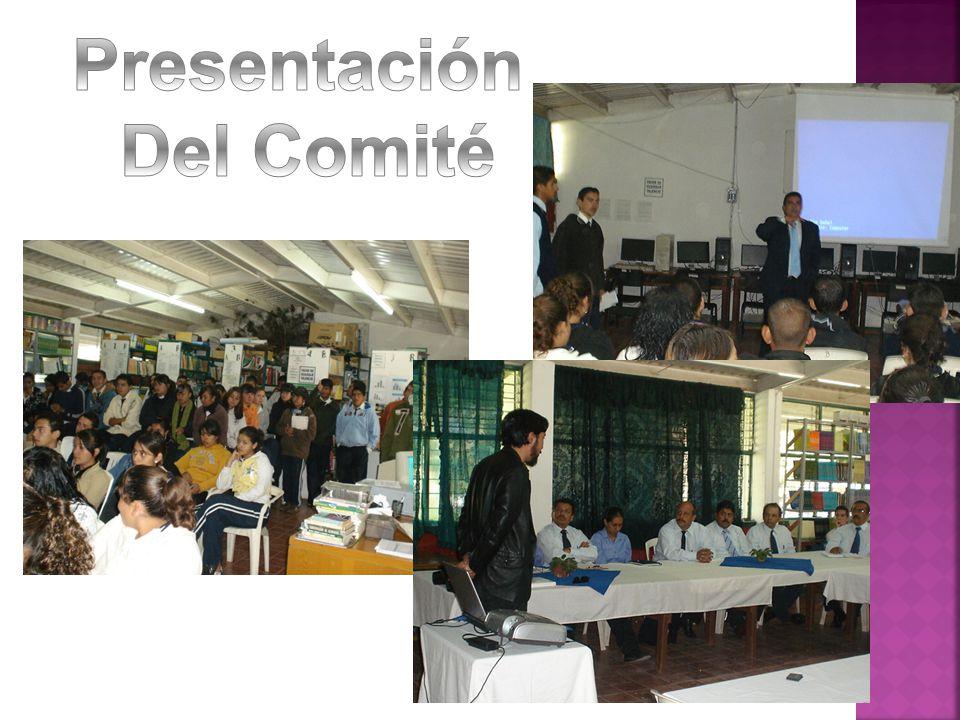 Presentación Del Comité