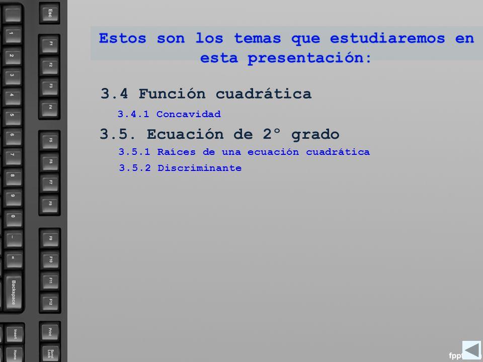 Estos son los temas que estudiaremos en esta presentación: