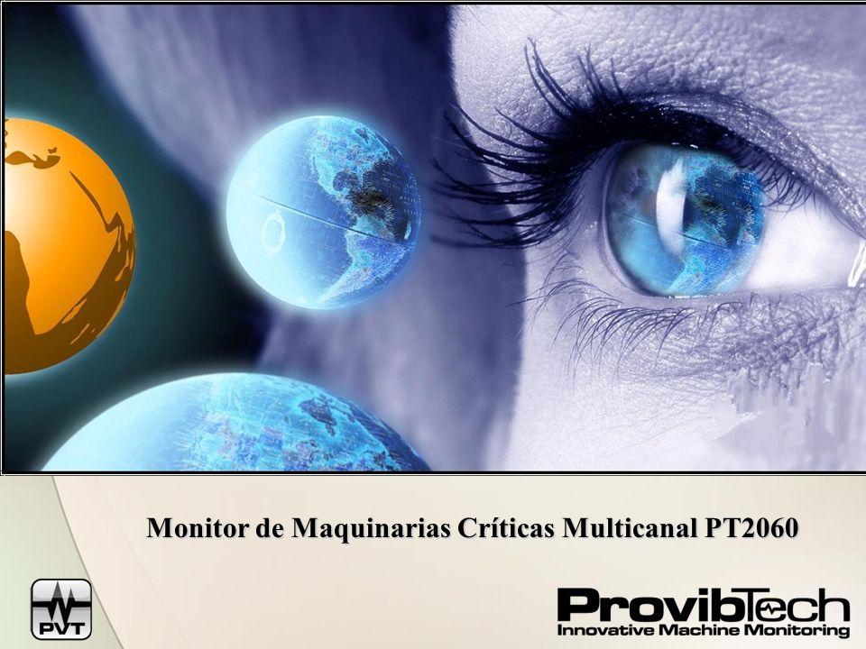 Monitor de Maquinarias Críticas Multicanal PT2060