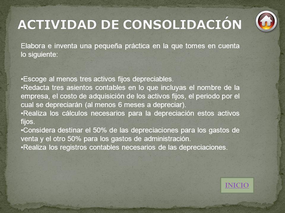 ACTIVIDAD DE CONSOLIDACIÓN
