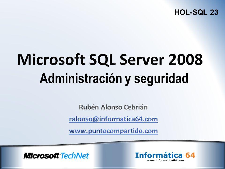 Rubén Alonso Cebrián ralonso@informatica64.com www.puntocompartido.com