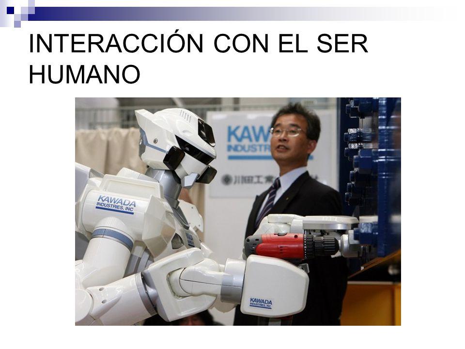 INTERACCIÓN CON EL SER HUMANO
