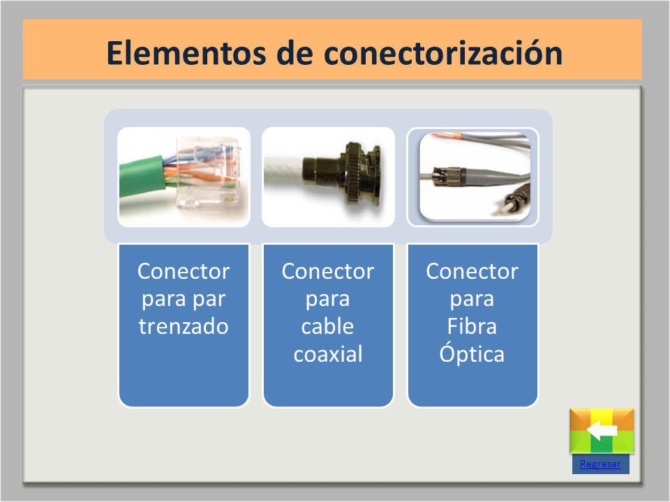 Elementos de conectorización