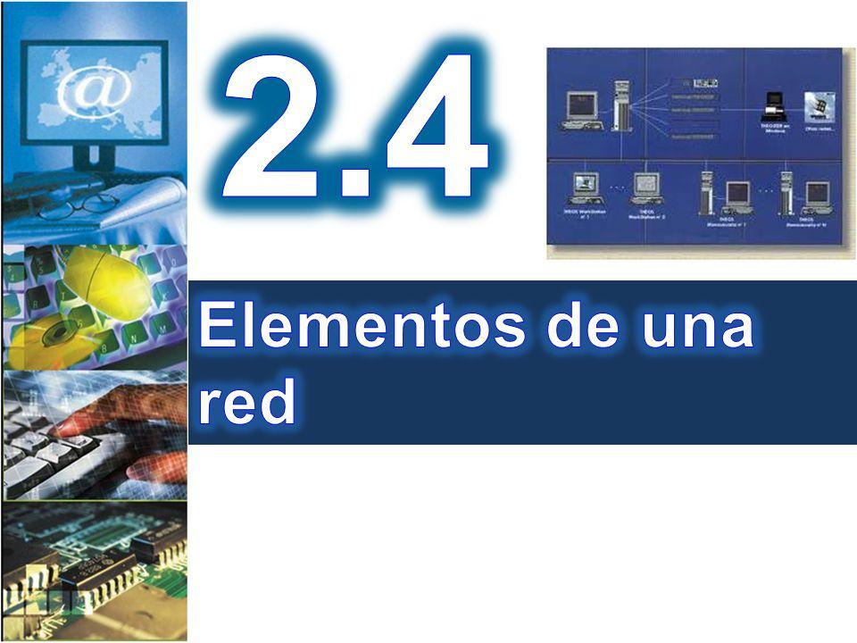 2.4 Elementos de una red