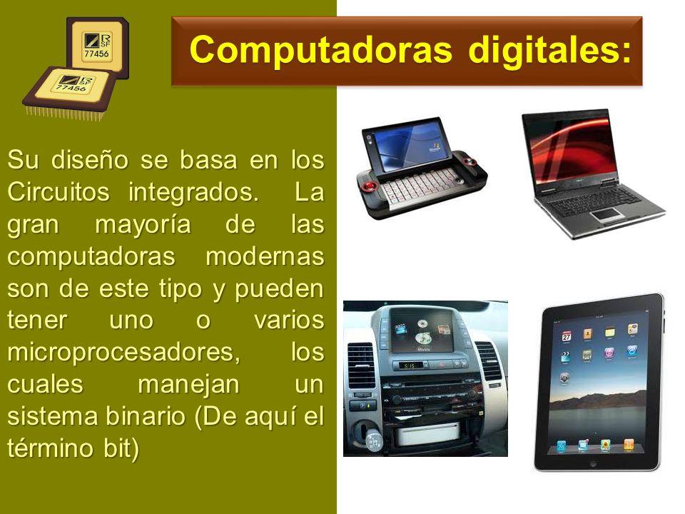 Computadoras digitales: