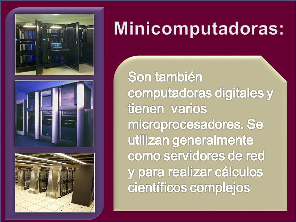 Minicomputadoras: