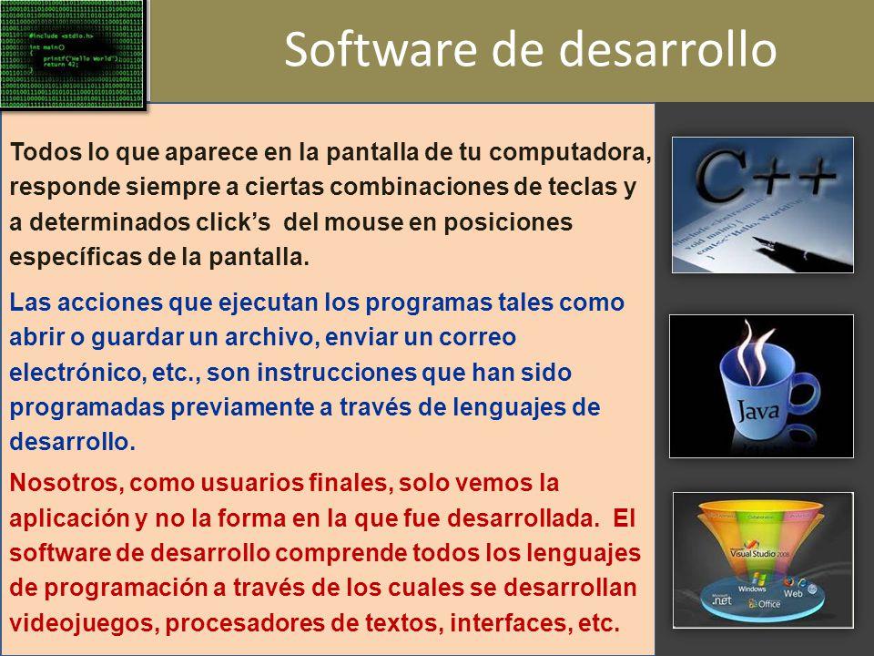 Software de desarrollo