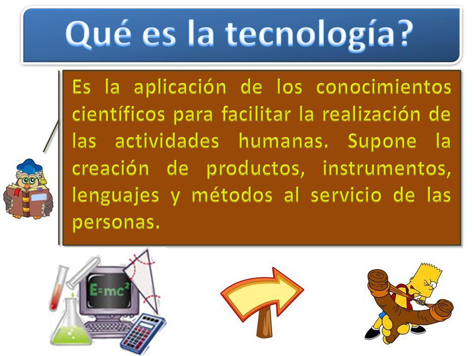 Qué es la tecnología
