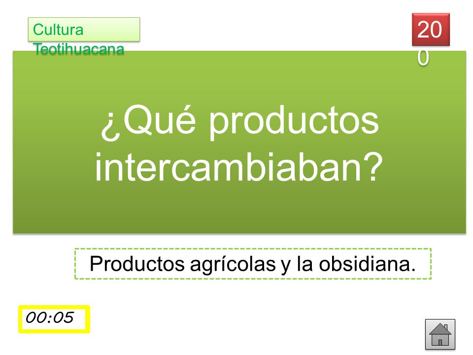 ¿Qué productos intercambiaban