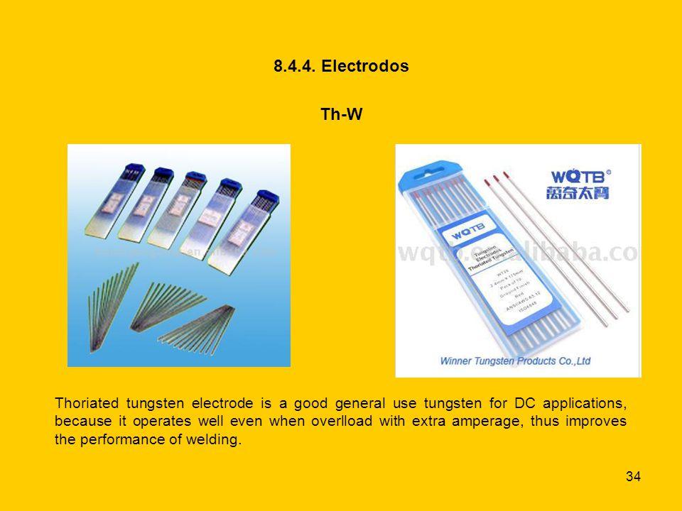 8.4.4. Electrodos Th-W.