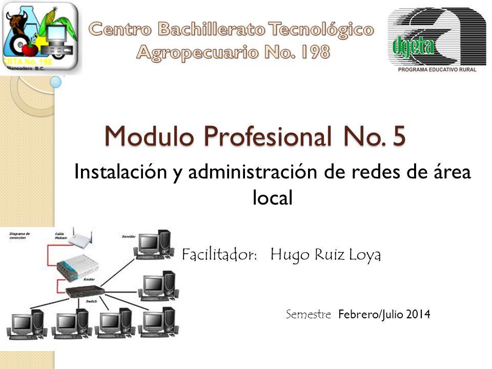 Instalación y administración de redes de área local