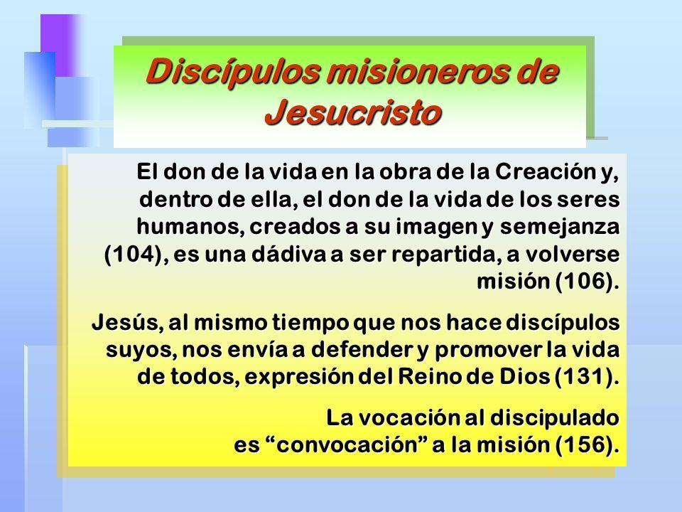 Discípulos misioneros de Jesucristo