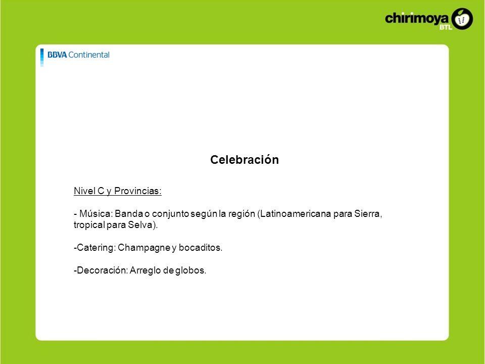 Celebración Nivel C y Provincias: