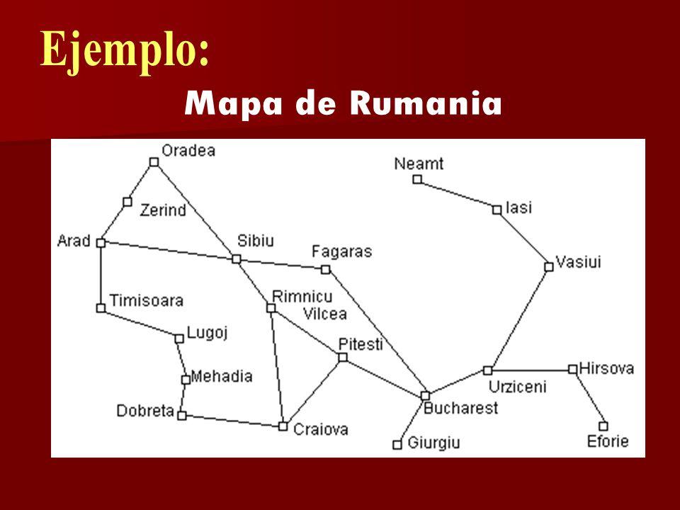 Ejemplo: Mapa de Rumania
