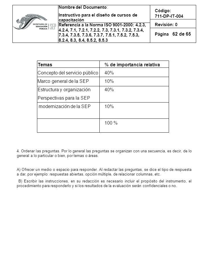 Concepto del servicio público Marco general de la SEP