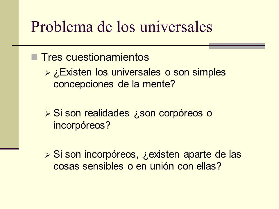 Problema de los universales