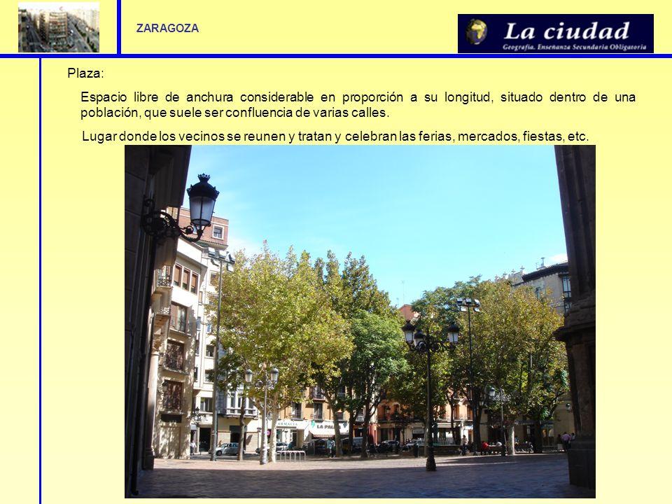 ZARAGOZA Plaza:
