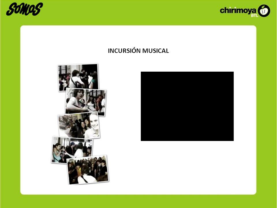 INCURSIÓN MUSICAL
