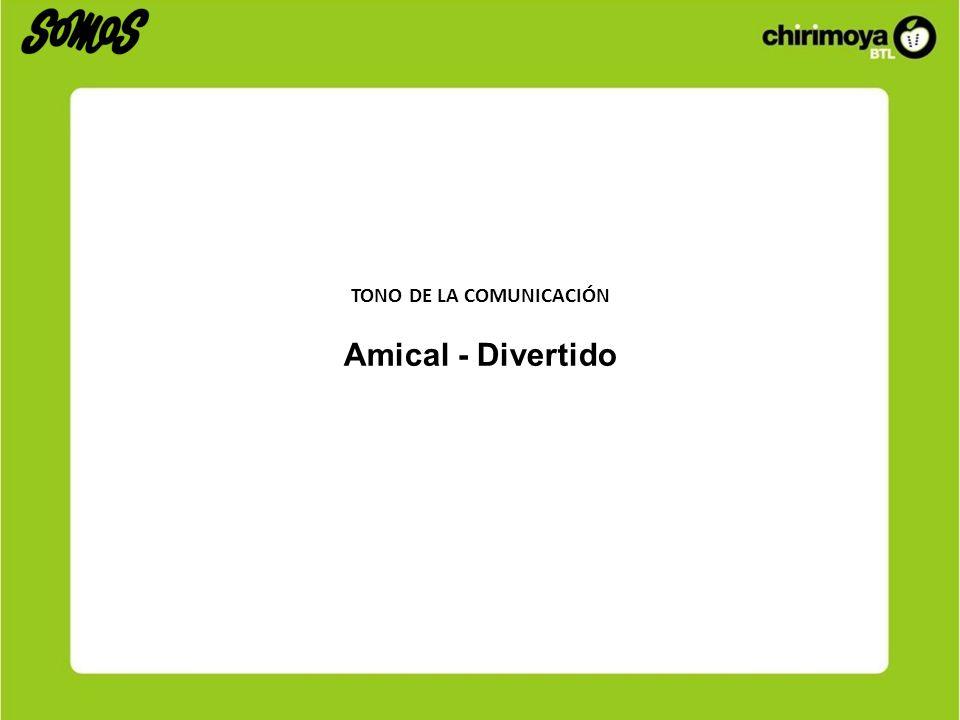 TONO DE LA COMUNICACIÓN