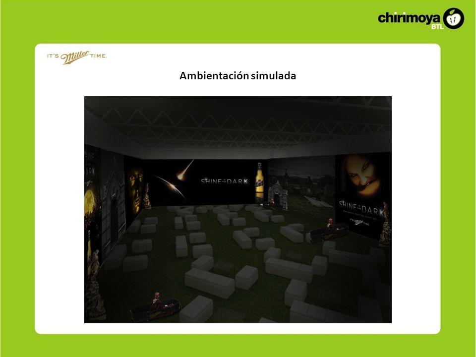 Ambientación simulada