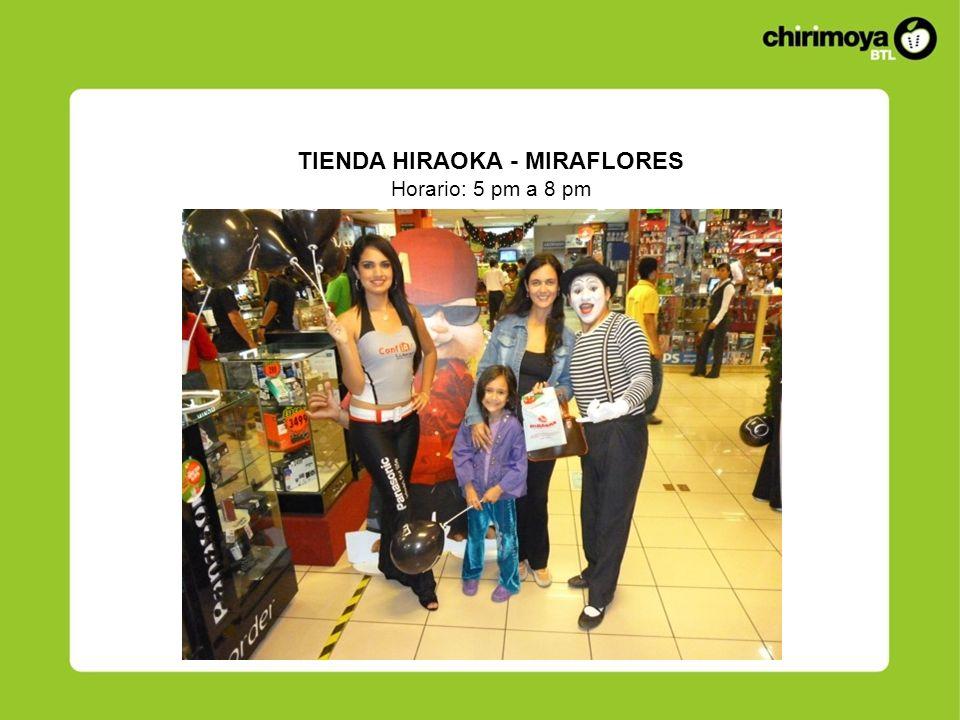 TIENDA HIRAOKA - MIRAFLORES
