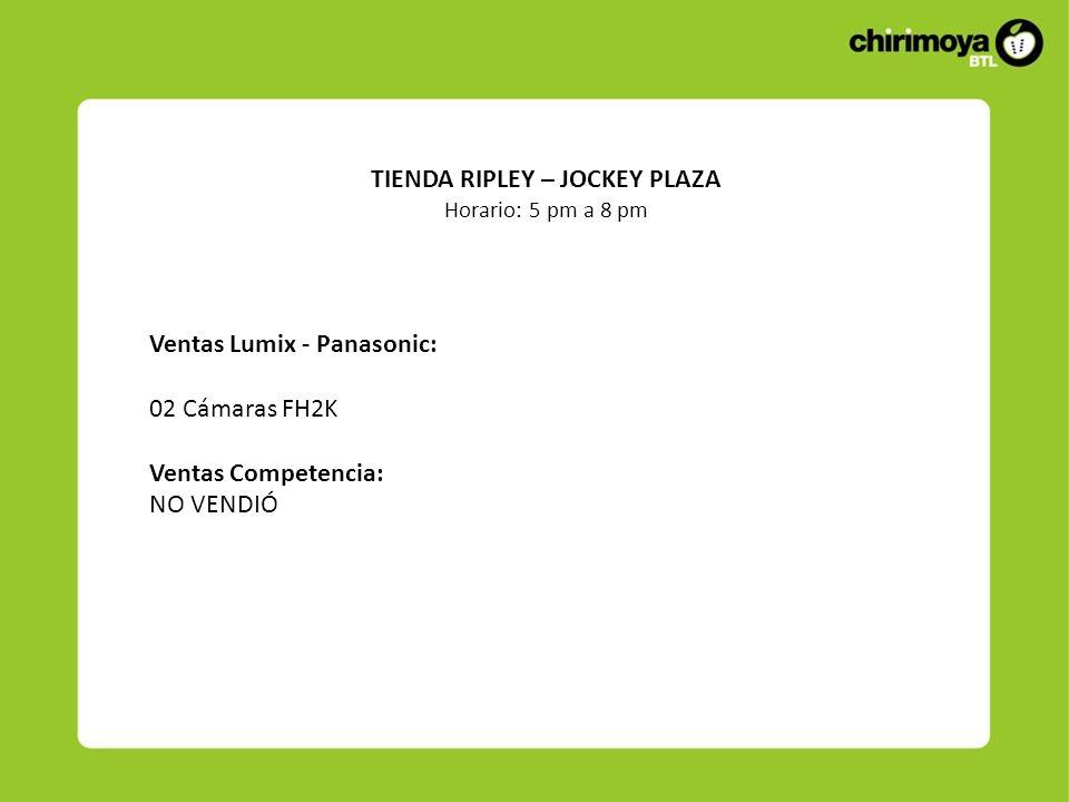 TIENDA RIPLEY – JOCKEY PLAZA