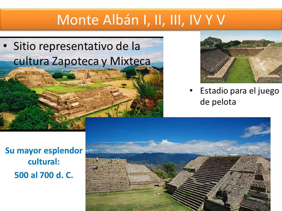 Monte Albán I, II, III, IV Y V