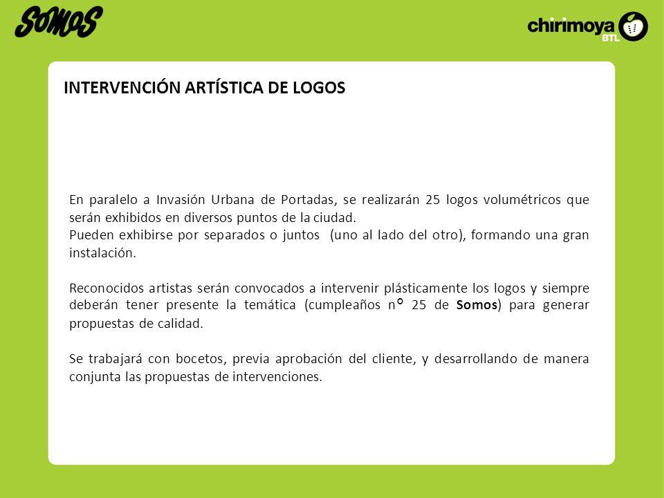 INTERVENCIÓN ARTÍSTICA DE LOGOS