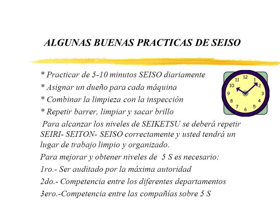 ALGUNAS BUENAS PRACTICAS DE SEISO